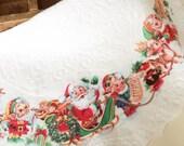 Vintage White Cotton Tree Skirt