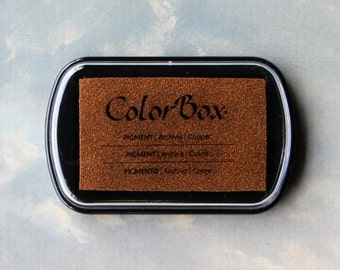 Copper Stamp Pad // Metallic Ink // ColorBox