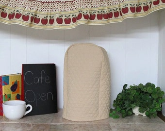 Tan Kitchen Blender Small Appliance Cover Ready to Ship