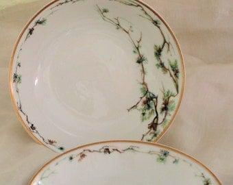 Haviland Limoges Schleiger 432c, Berry Bowls or Sauce Dishes, Set of 3