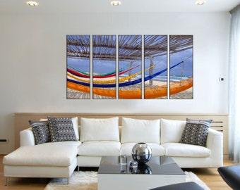 Canvas Prints - Beach Canvas Art - Beach Photo Prints - Framed Ready to Hang - Beach Home Decor Wall Art – Prints On Canvas