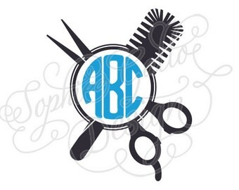 Monogram Hair Brush Etsy