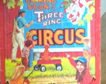 1985 Nostalgia Scrapbook Ringling Brothers Circus