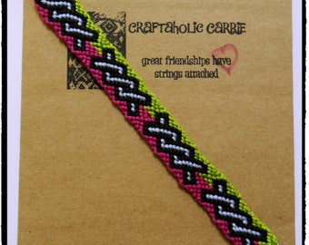 Woven Twisted Tie Knot Friendship Bracelet #34003