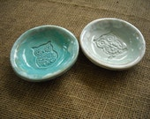 Owl Bowls  - Ring Holders - Dipping Bowls