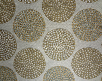 """Textured Dots Fabric by the Yard, 54"""" Wide,Greenhouse Fabrics,100% Cotton,Upholstery,Drapery,Bags,Crafts,Pillow Use.You Pay Shipping."""