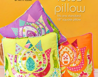 Patty Young Modkid Modern Lotus Pillow Sewing Pattern