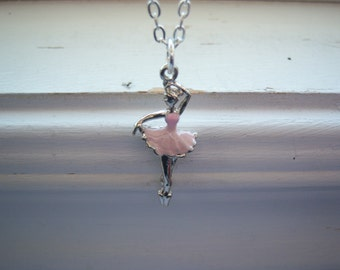 Ballerina Necklace - Dancer Necklace - Dancing Necklace - Free Gift With Purchase