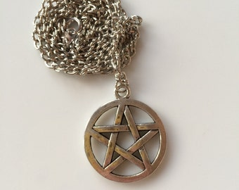Pentacle -  Necklaces 2 necklaces available on this listing