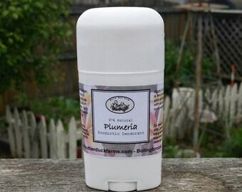 Plumeria PROBIOTIC Deodorant - Paraben & Aluminum Free