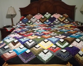Handmade king size quilt