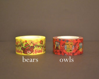 Owls & Bears (SC-109)