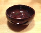 dark marbled ceramic egg separator