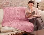 Cozy Crocheted Heart Afghan