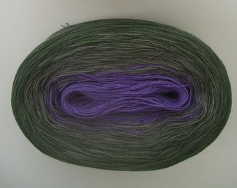 JUPITER II   Color Changing Cotton yarn  480 yards/100 gr  Fingering Weight