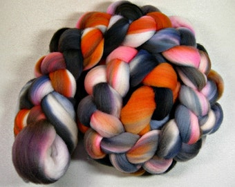 Gloaming Light merino wool top for spinning and felting (4.2 ounces)