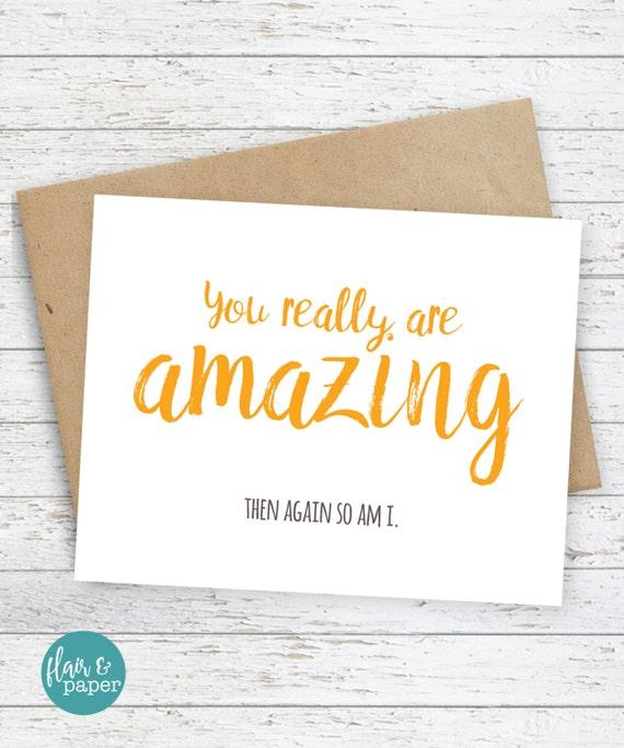 I Love You Card Boyfriend Card Awkward Card Snarky Card: Funny Cards I Love You Card Snarky Sassy Greeting By