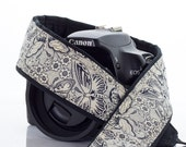 dSLR Camera Strap, Butterflies, Replacement Camera Strap, Pocket, SLR, Butterfly, Mirrorless, Quick Release, Camera Neck Strap, 25 w
