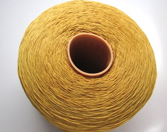 5/2 Mercerized Cotton Yarn 5/2 - Gold