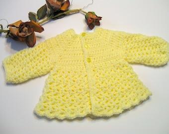 Baby Girl Crochet Sweater Pattern, No Seams, Instant Download, Corrine pdf 2016, Top Down, Easy Pattern