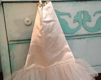 Vintage cream color ballerina tutu dance costume