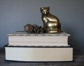 Brass Cat Sculpture / Figurine