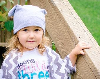Slouchy Beanie Hat Reversible Adult Tuke