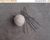 SALE SALE SALE Vintage Knitting Needles Destash Lot Double Pointed Silver Stainless Steel Supplies
