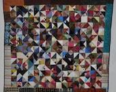 Hand Made Full Size Original Pattern Kabbalah Quilt
