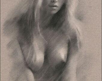 Dessins animés sur les femmes nues