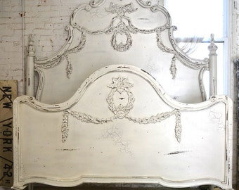 how to add crystal knobs to an apolstered headboard