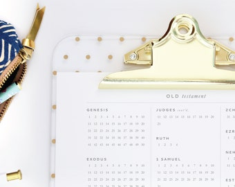 Read Scripture - Printable Dwell Journal™ - A simple Bible reading log for keeping track of your Bible reading plan.