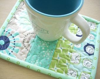 gracie girl mug rug - FREE SHIPPING