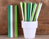 "St. Patrick's Day Lollipop Sticks, Small St. Patrick's Day Cake Pop Sticks, Plastic Lollipop Sticks, Lolly Sticks, Sucker Sticks (4.5""-50ct)"