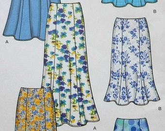 Skirt Sewing Pattern UNCUT Simplicity 5524 Sizes 8-18