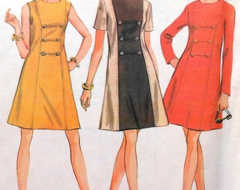 Vintage Dress Pattern McCalls 9383 Size 12