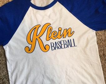 Team Spirit 3/4 sleeve baseball tee