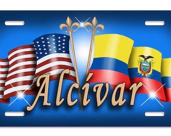 Usa Ecuador Flags Etsy - Ecuador flags