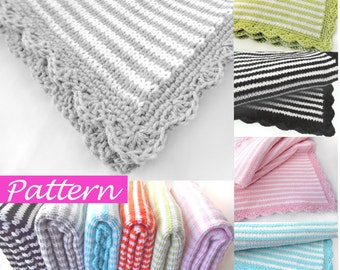 PDF Pattern to make Jolie Baby Blanket