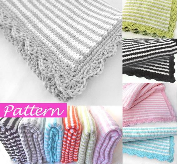 PDF Pattern to make Jolie Baby Blanket
