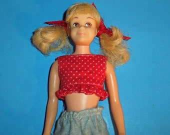 Vintage Bendable 1960s Skooter Doll--good Cond--Hard Find-- 20-70% off SALE throughout our Shop