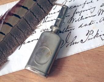 Antique Mini Oil Can - Gun Oiler Tin - USA Oil Dispenser