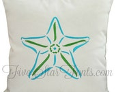 Stylistic Starfish Star Fish Machine Embroidery Designs