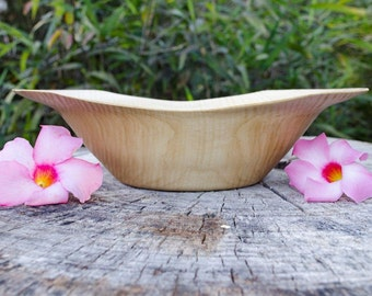 Wood Bowl,Rare Crepe Myrtle, Articistically Shaped Wood Bowl, Fruit Bowl, Bowl, Salad Bowl, Centerpiece, Serving Bowl, hand turned, table