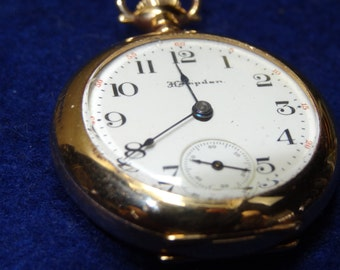 1903 Pretty Ladies Hampden Diadem 3/0 Pocket Watch