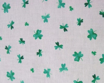Shamrocks St Patricks Day Dear Stella Mini Print Fabric Yard