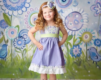 Easter Sweet Lilac Dress