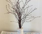 Tall Birch Branch Centerpiece, Holiday, Wedding, Mantle Decor, Tree Branch, Rustic Chic