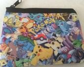Pokemon Zipper Wallet