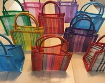 10 Mini Mexican Mercado Bag Party Favor Gift Bags #002